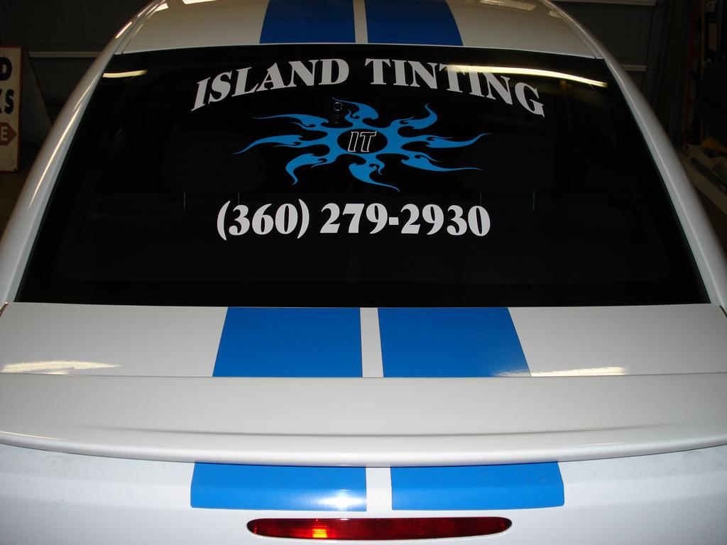 Island Tint For All Your Tinting Needs 360-279-2930